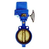 pneumatic actuated metal sealed butterfly valve- water valve