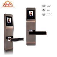 Wholesale High Security Face and Password Door Lock With Touch Screen from china suppliers