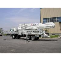 High Reliability ISUZU 5R47M Truck-mounted Concrete Pump Truck 455Hp