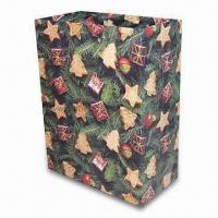 Wholesale Paper Bag, Suitable for Christmas Gift Packing Purposes, OEM Orders are Welcome from china suppliers