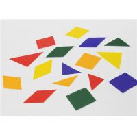 Wholesale Special Design Gummed 2d Shapes , Coloured Paper Shapes For Jigsaw Puzzle from china suppliers
