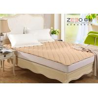 Wholesale Different Color Hotel Mattress Protector Microfiber With Elastic Bands At 4 Corners from china suppliers
