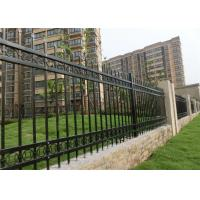 Iron Decorative Wire Fencing Plastic / Concrete Feet Hot - Dipped ...