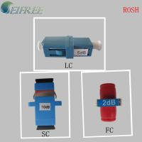 Wholesale LC /SC/FC Fixed type Fiber Optical Attenuator from china suppliers