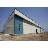 Wholesale Waterproof Warehouse Steel Structure Grade Q235B / Q345B Prefab Warehouse from china suppliers
