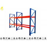 Wholesale Safe Drive In Pallet Racking System , Push Back Pallet Rack Storage Systems from china suppliers