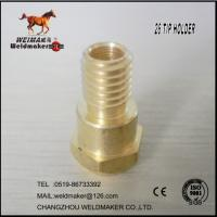 Wholesale 26KD Brass contact tip holder for mig torch from china suppliers