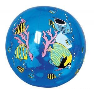 "Customized 16"" Inflatable Tropical Fish Beach Ball"