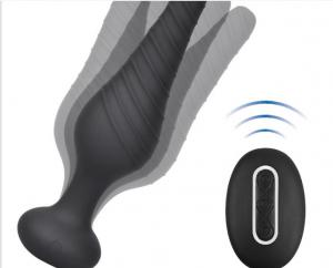 Wholesale 4*6.8*12cm Strong Vibration Anal Plug Toy from china suppliers