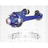 Wholesale Blue Color Truck Spare Parts Non Driving Axle Disk Brake Axle Series 11-13T from china suppliers