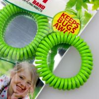 Buy cheap anti mosquito insect repellent silicone bracelet band wristband from wholesalers