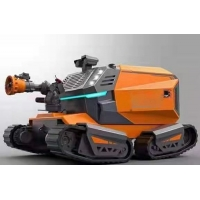Buy cheap All Terrain Four Track 1000m Fire Fighting Robot RXR-M150GD from wholesalers