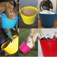 Wholesale colorful garden flexible plastic barrels from china suppliers