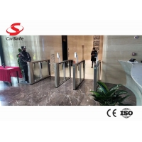 Wholesale Servo motor controled Swing Turnstile Gate with glass arm/stainless arm from china suppliers