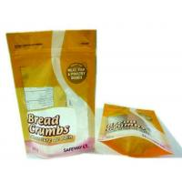 China custom materials stand up pouch , food bag main street danbury wholesale