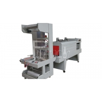 Buy cheap Semi Automatic PE Film Wrapping Cutting Shrink Tunnel Packing Machine from wholesalers