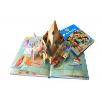 Wholesale Custom Pop Up 3d  Children Books Printing Service Activity Kid Photo Book Printed from china suppliers