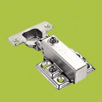 Wholesale free samples cabinet hardware soft closing hydraulic hinge with Nickel finish from china suppliers