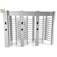 Wholesale Access Control Barriers Automatic Turnstile Security Full Height Turnstile Gate from china suppliers