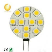 Wholesale 12SMD G4 LED Light/12SMD3528 AC/DC12V Back Bin Pin Led G4 Marine Led from china suppliers