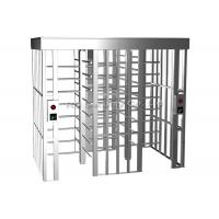 Wholesale 304 Stainless Steel Full Height Turnstiles Access Control Turnstile Automatic from china suppliers