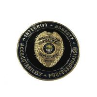 Custom Gold Plating Army Challenge Coins / Souvenir Coins With