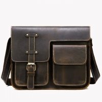 Wholesale Men'S Retro First Layer Cowhide Laptop Messenger Bags from china suppliers