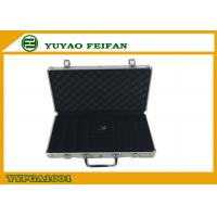 Wholesale 300 Pcs Sliver Aluminum Poker Cases Play Gaming Accessories 300ct Alum Poker Chips Case from china suppliers