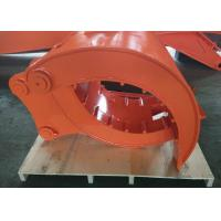 High Performance Mechanical Grapples For Excavators Quick Hitch Joint