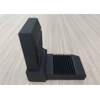 Wholesale Aluminium Extrusion Profiles T Slot T5 Right Angle Joint Bracket For Corner Connecting OEM Customized Black Color from china suppliers
