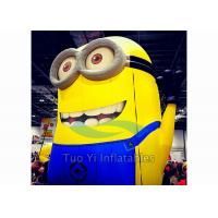 Quality PVC Tarpaulin Inflatable Cartoon Character Giant Inflatable Minions Customized for sale