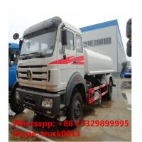 High quality low price north benz water tank truck with sprinkler for sale, best price CLW brand water carrier truck