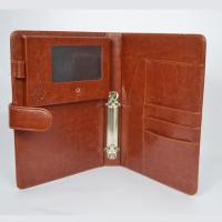 Buy cheap EU Leather cover 4.3 inch LCD video boolket with pocket ,magnetic switch from wholesalers