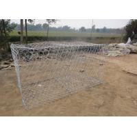 Wholesale Galfan 10AL - Zn Maccaferri Gabion Wire Mesh Basket For Dam Protecting from china suppliers