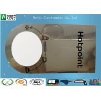 Wholesale 0.15mm Mirror PC Membrane Switches Graphic Overlays With Silver Effect Silk Screen Print from china suppliers