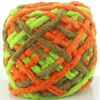 Wholesale China supplier oeko tex ice polyester chenille hand knitting yarn in ball from china suppliers