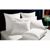 Wholesale Home And Hotel Duck Down Pillows Piping Design Size 60 * 90 60 * 60 from china suppliers