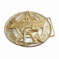 Wholesale Style Belt Buckle, Available in Various Designs and Colors, OEM Orders are Welcomed from china suppliers
