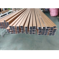 Wholesale Pvc Wood Film 6063 T5 Aluminum Square Tube Stock from china suppliers