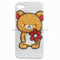 Wholesale Rhinestone Tattoo Bling Sticker for Mobile Phone Decoration, Fashionable Design from china suppliers