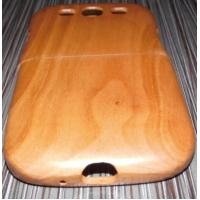 Wholesale Hand Work Samsung Galaxy S3 Wooden Cases , Cherry Wood Phone Cover from china suppliers