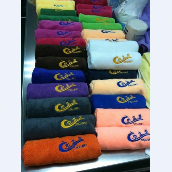 Personalized Sweat Towel: Cheap Price Various Color Microfiber Custom Logo Sweat Gym