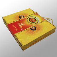 Wholesale Shopping Custom Printed Paper Bags Printing Services For Gift , Moon Cake Box from china suppliers