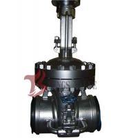 Wholesale Cast Steel Flex / Solid Wedge Gate Valve With Bypass Valve HF Seal API / DIN Standard from china suppliers