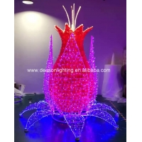 Wholesale led 3d motif flower from china suppliers