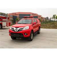 Water Mist Light Fire Truck 57L Fuel Tank With Super High Pressure Extinguishing System