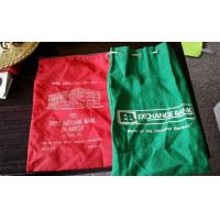 Wholesale Red Green Zipper Deposit Bank Bag Nylon First National Bank EB Exchange from china suppliers