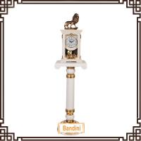 Buy cheap China antique standing clocks on floor / Standing polyresin clock for decoration from wholesalers