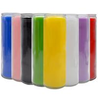 Buy cheap Solid Color Glass 7 Day Candles from wholesalers