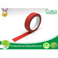 Wholesale Kids Craft Multi Pack Colored Masking Tape / 140 - 150mic Thickness Red Packing Tape from china suppliers